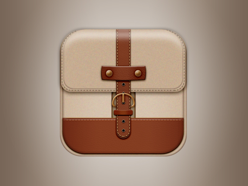 realistic-leather-bag-icon